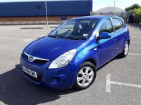2009(09)HYUNDAI i20 1.4 COMFORT MET BLUE,5DR,AIRCON,ALLOYS,CLEAN CAR,GREAT VALUE