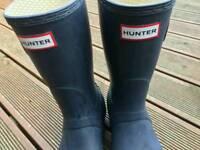 Hunter wellies size 6 women's