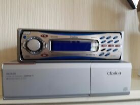 Clarion cd player & multichanger.