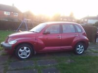 car for sale pt cruiser 1996cc 4 door on 2001 plate working or for spares or repair