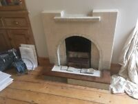 1930s fireplace/ fire surround