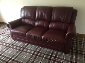 Brand New 100% Leather Couch