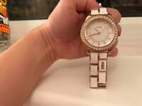 Storm Neona White & Rose Gold Watch, used for sale  Chelmsford, Essex