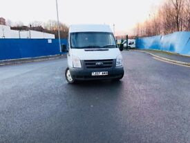 FORD TRANSIT 07 REG 2.2L LOW MILEAGE MWB