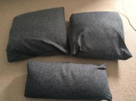 Set of 3 cushions