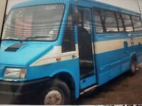 Ford ivaco 2.8 turbo diesel camper bus/full years m.o.t