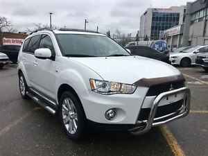 2012 Mitsubishi Outlander XLS AWD (ONE OWNER! NAVI! LEATHER!)