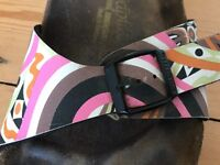 Birkenstock size 38/UK5 bright patterned sandals