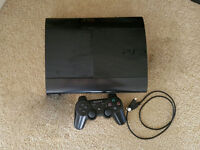 Sony PS3 superslim, 12gb, working