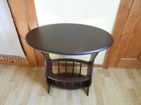Vintage Side Table / Magazine Rack - - £10 - - -