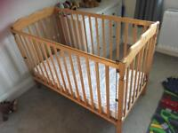 Free cot good condition