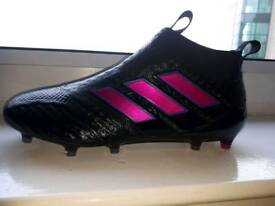 Adidas Ace 17+ PURECONTROL FG Football laceless Boots - Size 10.5