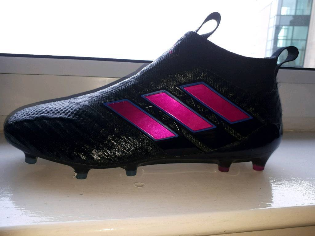 5abcef59adf3 Adidas Ace 17+ PURECONTROL FG Football laceless Boots - Size 10.5