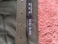 Zara trousers and coat