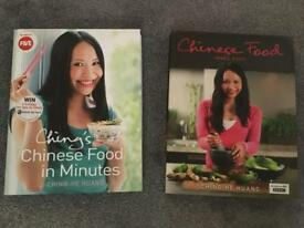 Chinese cook books x 2