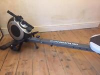 Regatta pro rowing machine, rower
