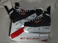 One pair of CCM ice skates, Size Eu 38/UK 5.
