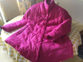 Quilted coat size 16
