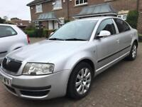 Skoda superb 2.5 tdi auto 2007/57 currently insured and taxed