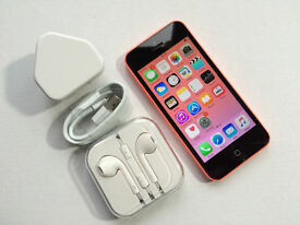 Apple iPhone 5c 8GB, Pink, NO OFFERS