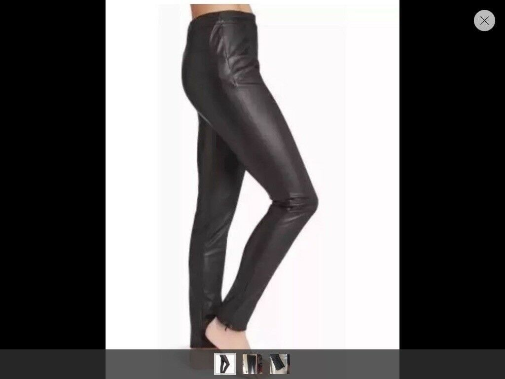 Next size 12 leather look trouser / leggings