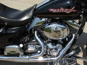 2002 harley-davidson FLHR Road King  $18,000 in Customizing and  London Ontario image 8