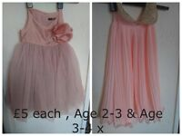 Selling my daughters vintage style dresses Age 3 Pet and Smoke FREE home Leigh park Havant x