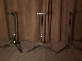 VGC Stagg Guitar / Bass Stands individual buy or as bundle
