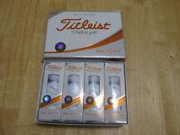 TITLEIST VELOCITY GOLF BALLS - 1 DOZEN NEW BOXED. 2018 MODEL