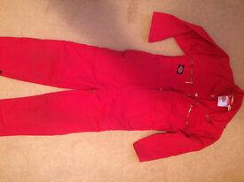 Dickies Redhawk children's boilersuit - size 24/60, Age 5-6 years
