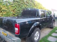 NISSAN NAVARA SPORT 2005 DIESEL DOUBLE CAB TRUCK MOT END JULY 2017 GOOD RELIABLE WORK HORSE