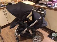 Icandy Apple2Pear Double Pram