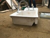 Ceramic kitchen sink and mixer tap - selling due to renovation
