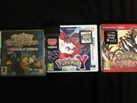 Nintendo 3ds and Nintendo ds Pokemon games with a Pokemon cheat cartridge