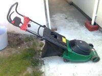 turbotrak electric lawnmower