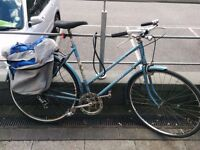 old fashioned raleigh bike