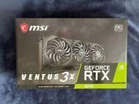 ✅BRAND NEW✅ MSI NVIDIA GeForce RTX 3070 8GB VENTUS 3X OC Graphics Card