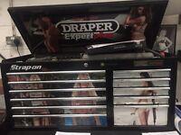 Draper top box. GOOD CONDITION