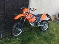 Ktm 200 exc one year mot very mint bike