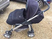 Silver Cross Pushchair With Car Seat