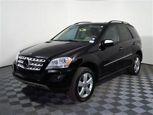 2009 Mercedes-Benz M-Class ML350 -- BLACK ON BEIGE -- LOW KM