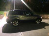 BMW X5 2002. 3.0. Petrol. LPG / fuel. Very clean. £1695