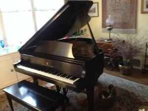 Near mint condition beautiful Steinway Model S grand piano