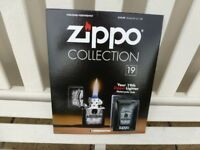ZIPPO LIGHT on MAGAZINE ISSUE NO: 19 ( Brand New )