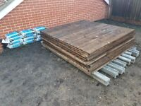 FENCE PANELS/FENCE POSTS AND GRAVEL BOARDS FOR SALE
