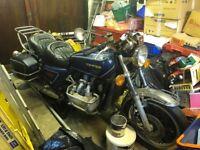 Honda Goldwing (1977) 999CC Blue - Petrol