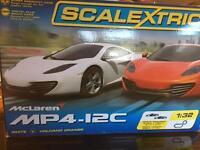 SCALEXTRIX McLaren MP4-12C set