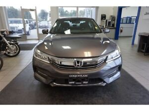 2017 Honda Accord Touring - Leather, Sunroof, Pushstart, Low KM