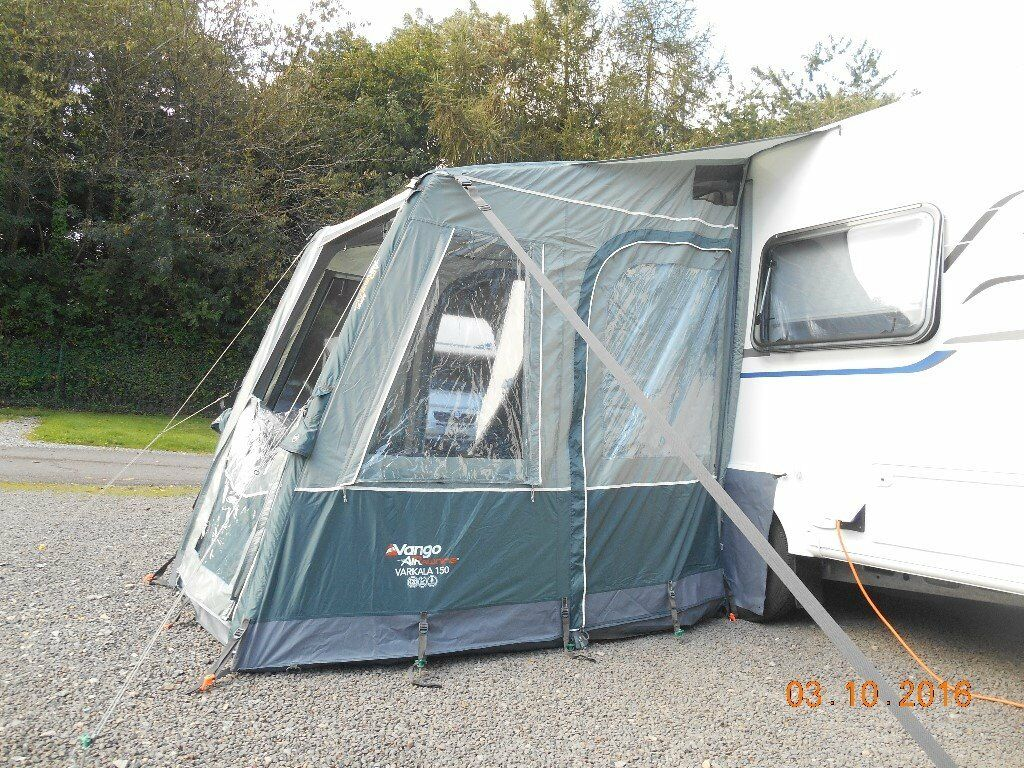 For Sale 2016 Vango Varkala 150 Inflatable Porch Awning As New