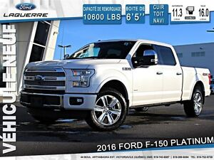 2016 Ford F-150 **PLATINUM*FULL*181/SEM**
